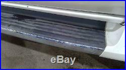 02-06 Cadillac Escalade OEM Running Boards (Pair Left/Right) White Diamond SWB