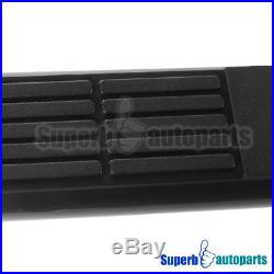 02-13 Avalanche 00-18 Suburban 3 Nerf Bars Side Step Running Boards Black SS