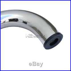 04-13 Colorado Canyon Crew Cab Chrome SS Running Boards Side Step Nerf Bar