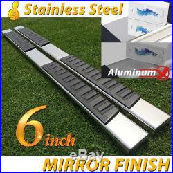 14-18 Silverado/Sierra Double Cab 6 Nerf Bar Side Step Running Board OE Style