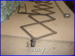 1920 1930's Old Vintage Running Board Luggage Gas Oil Can Rack Ford Chevy Dodge