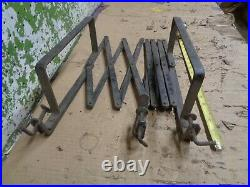 1920's Old Vintage Running Board Luggage Gas Oil Can Rack Ford Chevy Dodge #1