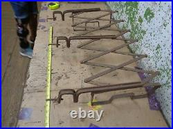 1920's Old Vintage Running Board Luggage Gas Oil Can Rack Ford Chevy Dodge #2