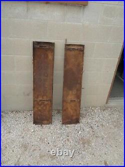 1929,1930 chevrolet running boards set pair