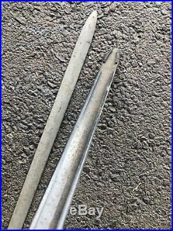 1934 Chevy Running Board Molding Spears Nos Pair