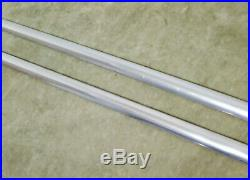 1935 1936 1930s Chevrolet Running Board Mouldings Molding Trim Vintage 78 Coupe