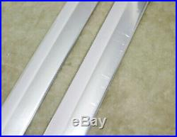 1937 37 1938 38 Chevrolet Chevy Running Board Mouldings Trim Vintage 77 3/4 NOS