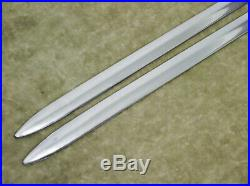 1939 Chevrolet Chevy Running Board Moldings Mouldings Trim NOS Spear Vintage 30s