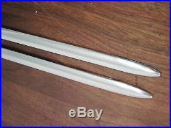 1939 Chevrolet Chevy Running Board Trim Mouldings NOS Spear 75 1/2 Vintage GM