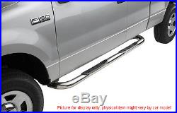 1999-2012 Silverado/Sierra 1500 Extended Cab 3' SS Nerf Step Bars Running Boards