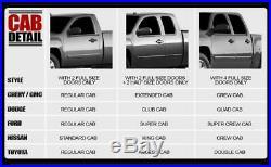 1999-2013 GMC Sierra 1500 Extended Cab 5' Oval S/S Nerf Steps Bars Running Board