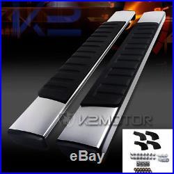 1999-2015 Silverado Sierra Regular Cab 6 Chrome Side Step Bar Running Boards