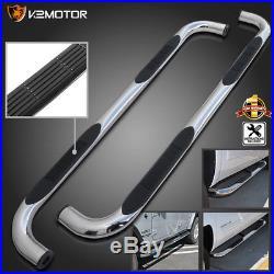 2000-2018 Chevy Tahoe GMC Yukon 4dr Chrome Side Step Nerf Bar Running Boards