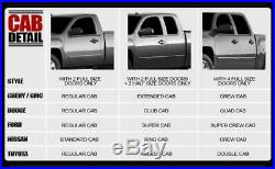 2001-2012 GMC Sierra 2500HD Extended Cab 5' S/S Nerf Steps Bars Running Board