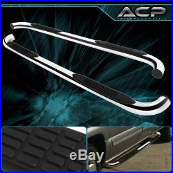 2002-2006 Chevy Avalanche 1500 4 Door 3Inch Chrome Running Board Step Bar