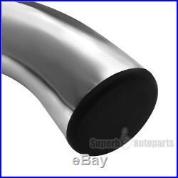 2002-2009 Chevy Trailblazer 3 S/S Running Board Side Step NERF Bar Chrome