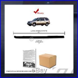 2002-2009 GMC Envoy Xl/Trailblazer Ext 3 Blk Side Step Nerf Bars Running Boards