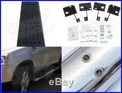 2007-2014 GMC Acadia 3 Side Step Nerf Bars S/S Running Board Chrome