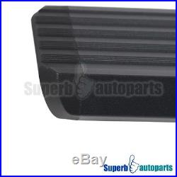 2015-2018 Chevy Colorado Canyon 5 Side Step Running Boards Rails Crew Cab Black