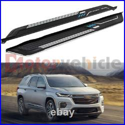 2PCS Side Step For Chevrolet Traverse 2018-2021 Running Board Nerf Bar Protector