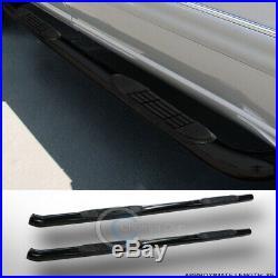 3 Black Side Step Nerf Bars Rail Running Boards 02-09 Envoy Xl/trailblazer Ext