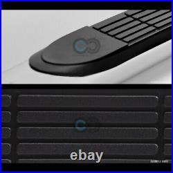 3 Chrome Steel Side Step Nerf Bars Running Boards HD For 10-17 Equinox/Terrain