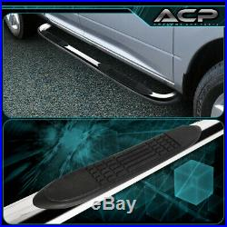 3 Inch Chrome Running Board Step Bar For 1999-2016 Silverado Sierra Extended