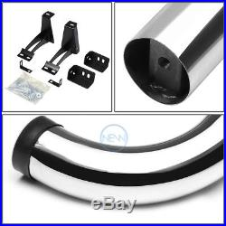 3 Oval Chrome Side Step Bar Running Board For 00-14 Tahoe/yukon Sport 4dr