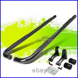3 Round Tube Coated Step Bar Running Board for Chevy Tahoe Yukon Escalade 00-16