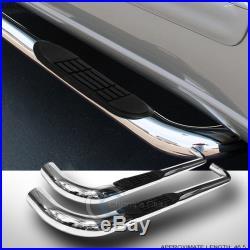 3 Ss Chrome Side Step Nerf Bar Running Board 99-18 Silverado/sierra Regular Cab