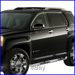 3Chrome Round Side Step Bar/Running Board for 10-16 Chevy Equinox/GMC Terrain