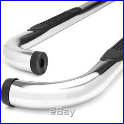 3Chrome Tubing Side Step Bar/Running Board for 99-11 Chevy/Ram Extended/Crew