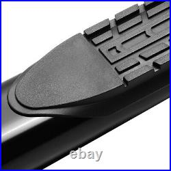 4 (CURVED OVAL TUBE) Step Bar Running Boards for 15-20 Colorado Canyon Crew Cab