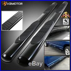 4 Crew Cab 2015-2019 Colorado Canyon Running Boards Side Step Bars Stainless
