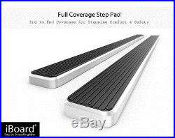 4 Running Boards Nerf Bars 00-18 Chevy Tahoe/GMC Yukon/Cadillac Escalade