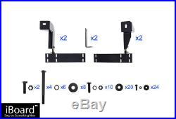 4 iBoard Running Boards Nerf Bars 88-98 Chevy/GMC C/K Pickup 2Dr Extended Cab