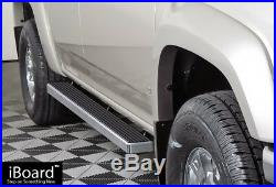 4 iBoard Running Boards Nerf Bars Fit 04-12 Chevy Colorado/GMC Canyon Crew Cab
