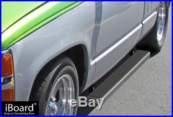 4 iBoard Running Boards Nerf Bars Fit 88-98 Chevy/GMC C/K Pickup Regular Cab