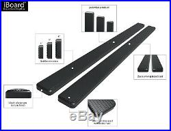 4 iBoard Running Boards Nerf Bars Fit 95-99 Chevy Tahoe 4Dr (GMC Yukon 4Dr)