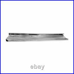 47 54 Chevy Pickup Truck Running Board Short Bed / Chrome / Left Side