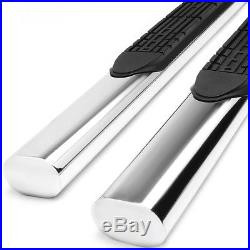4Chrome Oval Side Step Bar/Running Board for 07-16 Silverado/Sierra Reg/Std Cab