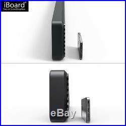 5 Black iBoard Running Boards Nerf Bars Fit 99-16 Silverado/Sierra Regular Cab