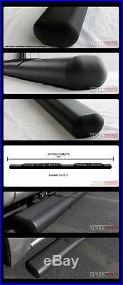 5 Matte Blk Side Step Nerf Bars Rail Running Board 04+ Colorado/Canyon Crew Cab
