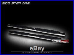 5 S/S Chrome Side Step Nerf Bars Running Boards 01-18 Silverado/Sierra Crew Cab