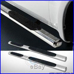 5 Ss Chrome Side Step Nerf Bars Running Boards 99-18 Silverado/sierra Extended