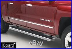 5 iBoard Running Boards Nerf Bars Fit 01-13 Chevy Silverado/GMC Sierra Crew Cab