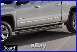 5 iBoard Running Boards Nerf Bars Fit 07-18 Chevy Silverado GMC Sierra Crew Cab