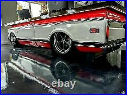 54-55 Chevy/GMC Truck LH Driver Side Running Board Bed Filler Panel