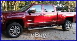 6 07-18 Silverado Sierra Crew Cab Nerf Bars Side Step OE Running Boards withCover