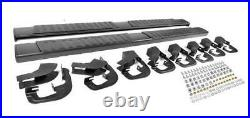 6 07-18 Silverado/Sierra Crew Cab Nerf Bars Side Steps Running Boards withCovers